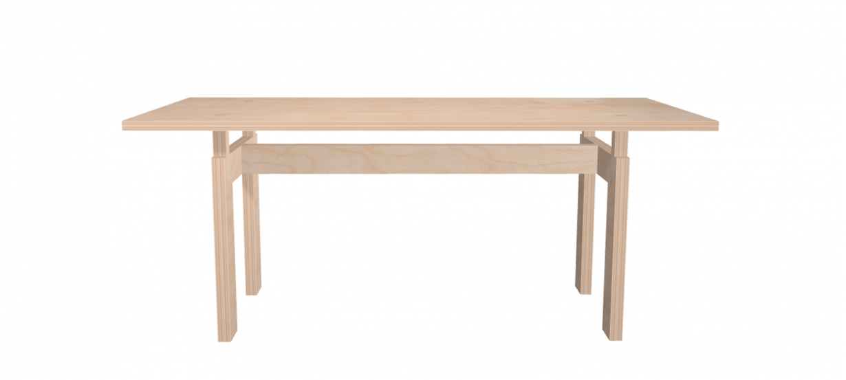 Table LC Design Bois Bouleau
